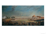 Delhi Durbar, Celebration on the Occasion of Queen Victoria Becoming Empress of India, 1877 Giclee Print by Alexander Caddy