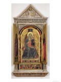 The Linaiuoli Triptych Giclee Print by  Fra Angelico