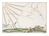 The Dive, c.1920 Giclee-trykk av Charles Martin