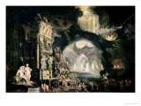 Hell, 1622 Giclee Print by Francois de Nome