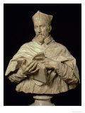 Bust of Cardinal P.S. Zacchia Rondanini Giclée-tryk af Alessandro Algardi