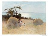 Towards Evening, 1893 Giclee Print by Arthur Claude Strachan