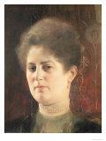 Portrait of a Lady Giclee Print by Gustav Klimt