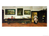 Interior of a Dining Hall, 1866 Giclee Print by William Frederick Yeames