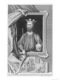 Edward II Reproduction procédé giclée par George Vertue