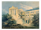 Rievaulx Abbey, Yorkshire, 1798 Giclee Print by Thomas Girtin