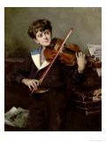The Violinist Giclee Print by Harry Humphrey Moore