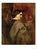 Self Portrait, c.1860 Giclee Print by Anselm Feuerbach