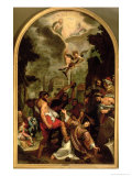The Martyrdom of St. Stephen Giclee Print by Ludovico Cardi Cigoli