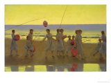 The Sand Bar Giclee Print by Thomas Cooper Gotch