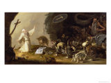 The Temptation of St. Anthony Giclee Print by Cornelis Saftleven