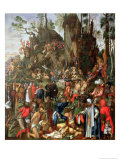 Martyrdom of the Ten Thousand, Copy of a Painting by Albrecht Durer, 1653 Giclee Print by Johann Christian Ruprecht