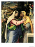 The Visitation, 1519 Giclee Print by Sebastiano del Piombo