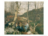 Early Spring in the Vienna Woods Giclee Print by Ferdinand Georg Waldmuller