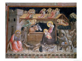 The Nativity, the Life of the Virgin and the Sacred Girdle, Cappella Dell Sacra Cintola Giclee Print by Agnolo Gaddi