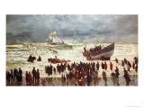 The Lifeboat, 1873 Giclee Print by William Lionel Wyllie