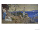 Sweet Country, 1882 Giclee Print by Pierre Puvis de Chavannes