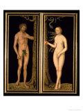 Adam and Eve, 1537 Giclée-Druck von Lucas Cranach the Elder