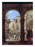 Architectural Capriccio, c.1770 Giclee Print by Francesco Guardi