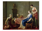 The Seller of Loves, 1763 Giclee Print by Joseph-marie, The Elder Vien