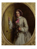 Maid with a Flagon, 1858 Giclee Print by William Powell Frith