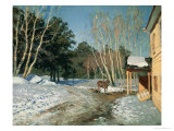 March, 1895 Giclee Print by Isaak Ilyich Levitan