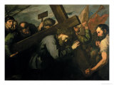 Christ Carrying the Cross, 1635 Giclee Print by Jusepe de Ribera