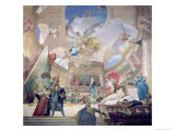 Apotheosis of the Renaissance Giclee Print by Mihaly Munkacsy