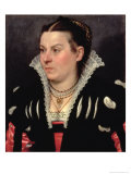 Portrait of a Lady Giclee Print by Giovanni Battista Moroni