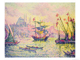View of Constantinople, 1907 Giclee Print by Paul Signac