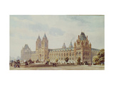 Natural History Museum Giclee Print by Alfred Waterhouse