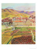 The Countryside Giclee Print by Diario Or Dario De Regoyos Y Valdes