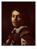 Self Portrait, 1620 Giclee Print by Simon Vouet