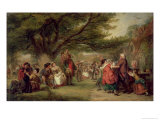 Village Merrymaking Giclee Print by William Powell Frith
