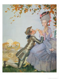 First Love, 1916 Giclee Print by Konstantin Andreevic Somov