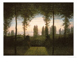 Remembrance of Johann Bremen Giclee Print by Caspar David Friedrich