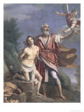 The Sacrifice of Isaac Giclee Print by Jacopo da Empoli