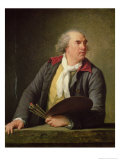 Portrait of Hubert Robert Giclee Print by Elisabeth Louise Vigee-LeBrun