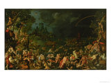 The Flood, 1515 Giclee Print by Jan van Scorel