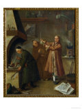 The Alchemists, c.1757 Giclee Print by Pietro Longhi