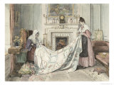 Nearly Done, Published 1898 Giclee Print by Walter Dendy Sadler