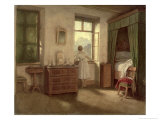The Morning Hour Giclee Print by Moritz Ludwig von Schwind