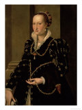 Portrait of Laudomia de Medici Giclee Print by Agnolo Bronzino