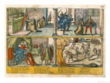 The Assassination of Henri III Giclee Print by Franz Hogenberg