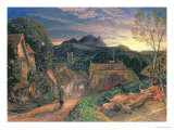 The Bellman Giclee Print by Samuel Palmer