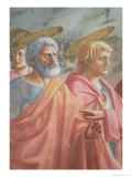 Tribute Money Giclee Print by Tommaso Masaccio