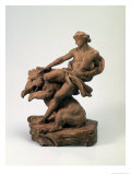 Athlete with a Bear, 1735 Giclee Print by Edme Bouchardon