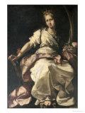 St. Catherine of Alexandria Lámina giclée por Bernardo Strozzi