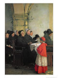 The Consecrated Bread, 1885 Giclee Print by Pascal Adolphe Jean Dagnan-Bouveret