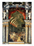 Holy Communion of Charles II Giclee Print by Claudio Coello